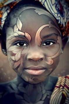 Beautiful portrait of a pretty little girl