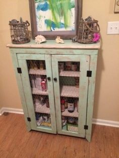 Beachy Cupboard | Do It Yourself Home Projects from Ana White