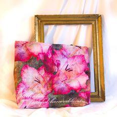 Birthday Blossom Tote Bag - August, Gladiolus