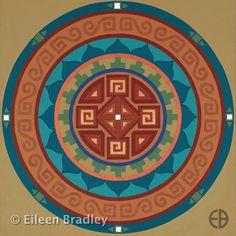 """Emergence"" mandala by Eileen Bradley"