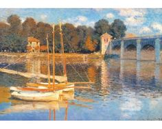 Puzzle D-Toys El Puente de Argenteuil de 1000 Piezas