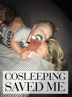 Cosleeping Saved Me