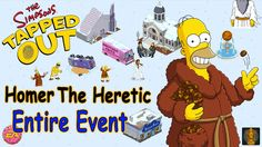 Watch THE WHOLE EVENT of Homer The Heretic - The Simpsons Tapped Out - YouTube #TheSimpsons #mobilegames #gaming #GameTips #gamification