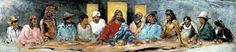 Last Supper [Hyatt Moore] (La Última Cena / The Last Supper)