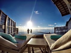 Just you and I. Who would you share this with?  @fourseasons #maldives #fsmaldives #fourseasons