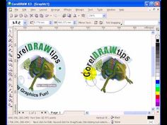 logo corel draw
