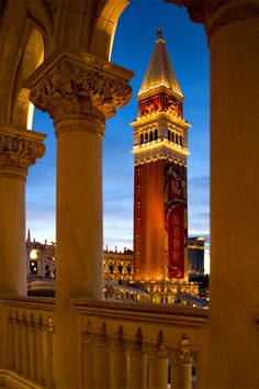 Tower of Venetian Hotel, Las Vegas, USA