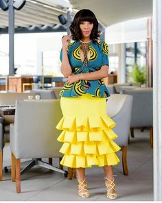 The Trending and most Inspired Ankara styles every Fashionista should have in her closet at the moment. African Fashion Designers, Latest African Fashion Dresses, Latest Ankara Styles, African Print Dresses, African Print Fashion, Africa Fashion, African Dress, Kente Styles, Ankara Fashion