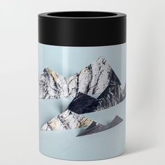 Paper mountains Can Cooler by theothererre