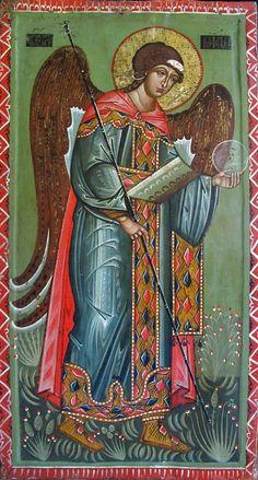 """Архистратиг Михаїл"" ц. Воздвиження, м. Дрогобич, кін 15 музей Дрогобичина"
