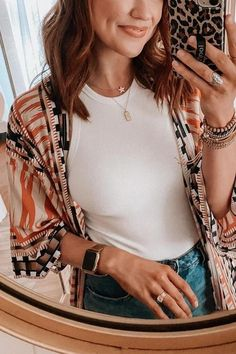 Details: Material:Polyester SIZE(IN) Shoulder Bust Sleeve Length One Size 26.8 55.1 11.8 51.6 Summer Kimono, Summer Cardigan, Pocket Trumpet, Beach Cover Ups, Ripped Shorts, Denim Romper, Flare Pants, Rompers, Shoulder
