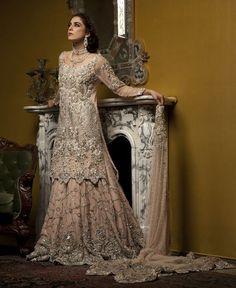 """""""Il Giglio"""" (The Lily) Bridal Couture Latest Bridal Dresses, Asian Bridal Dresses, Asian Wedding Dress, Pakistani Wedding Dresses, Pakistani Outfits, Bridal Outfits, Walima Dress, Indian Designer Outfits, Designer Dresses"""