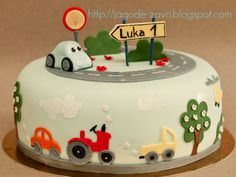 Transportation cake | Flickr - Photo Sharing!