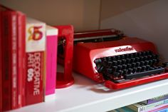 Soon in my shop: Olivetti Valentine typewriter by Ettore Sottsass *Typewriter Workshop*  http://www.etsy.com/shop/typewriterwshop
