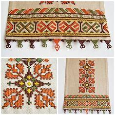 Преди известно време направих тези пана с българска бродерия. Исках да изработя нещо различно, като подар...