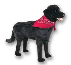 Black Labrador Retriever Footrest by Ditz Designs #labradorretriever