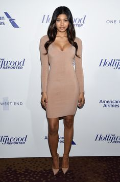 29d07d166011c Model Danielle Herrington attends The Hollywood Reporter 35 Most Powerful  People In Media 2017 at The