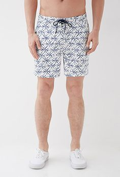 Sunburst Print Swim Trunks | 21 MEN | #forever21men
