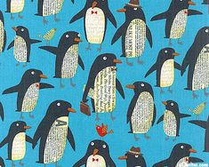 "Fabric can inspire fun newspaper art with kids. Also try the creative app ""Penguin First Grade."""