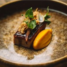 | Veal • Carrot • Mustard • Onion | Posted By @labottegach #foodforthought…