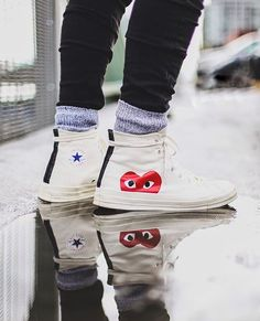 423e519cbb34de Comme des Garçons x Converse Chuck Taylor®  PLAY - Hidden Heart  High Top