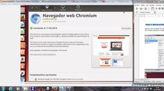 De la instalación del Chrome en ubuntu. Se encuentra en el VirtualBox. https://www.virtualbox.org/wiki/Downloads