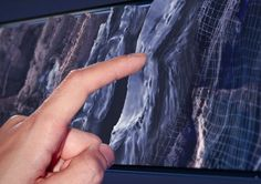 technology | makes ordinary touch screens come alive with textures and edges that users can feel. Senseg