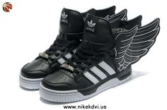 Buy Adidas X Jeremy Scott Wings 2.0 Shoes Black