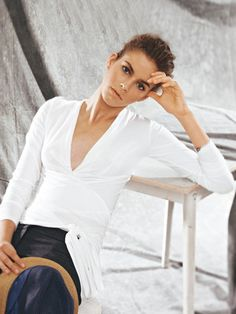 Schnittmuster: Wickelshirt - Langarm-Shirts - Shirts & Tops - Damen - burda style