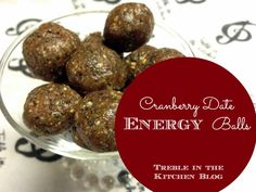 Delicious, chewy balls that are the perfect afternoon pick-me-up or pre-workout snack.  Full of omega 3s, fiber, and they are gluten free!