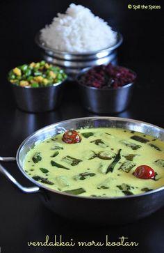 Spill the Spices: Vendakkai Moru Kootan | Okra Buttermilk Curry