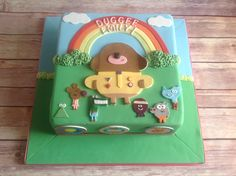 A cake done to a TV cartoon series...