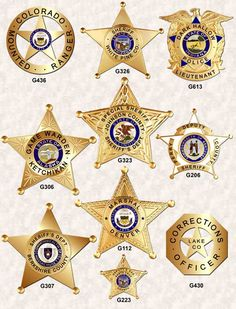 5 point Star Badges