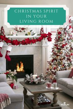ideas for decorating your living room christmas paint color palettes 53 wonderfully modern decorated rooms 10 a festive decor