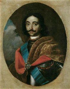 Портрет Петра I :: Adolsky Ивана - мужские портреты 18-го века