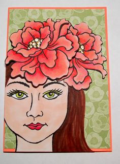 Stampendous Blossom Beauty stamps