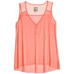 GO SILK Sadie Mixed Media Silk Tank ($99) ❤ liked on Polyvore featuring tops, shirts, tank tops, tanks, silk tank top, snap shirt, red silk shirt, red tank et panel shirt