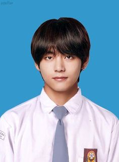 Read kim taehyung from the story Buku Tahunan Sekolah, kidols by fanydidntsleep with reads. Bts School, Id Photo, Bts Chibi, Kim Taehyung, Bts Edits, Boyfriend Material, Korean Singer, K Idols, Taemin