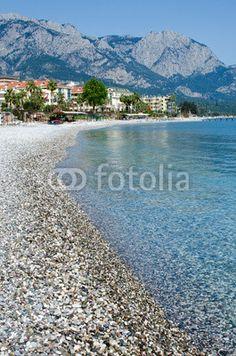Mediterranean coast of Turkey. Kemer beach. Antalya