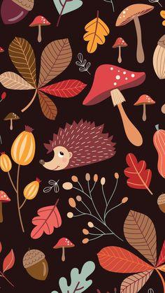 Wallpaper Nature Flowers, Plant Wallpaper, Fall Wallpaper, Wallpaper Backgrounds, Wallpaper Telephone, Phone Screen Wallpaper, Locked Wallpaper, Iphone Wallpaper, Autumn Art