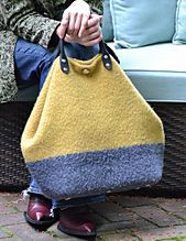 Ravelry: #177 Metropolitan Bag in 3 Sizes pattern by Nora J. Bellows