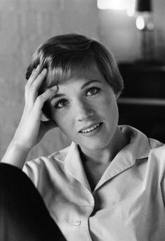 Sweet Odin's eyepatch, I sometimes forget just how beautiful this woman is. Julie Andrews, teach me how to be perfect.