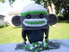 Sock Monkey Hat | AllFreeCrochet.com
