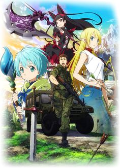 Gate. Firs season very cool and funny. In the second one the missed something, so in became boring.