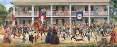 """shopcardinal.com - Mort Kunstler """"Covered With Glory"""" Civil War Print Limited Edition New 111/1100, $149.95 (http://www.cardinalsellingservices.com/mort-kunstler-covered-with-glory-civil-war-print-limited-edition-new-111-1100/)"""