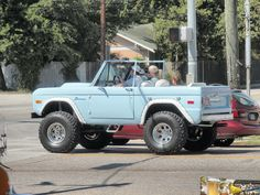 Blue Ford Bronco by DanDan Photos, via Flickr