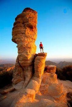 Windy Point, Mt Lemmon, Arizona (NE of Tucson in the Coronado National Forest)