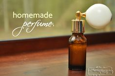 Homemade Perfume - All Natural with No Chemicals