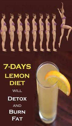 A New 7-Days Lemon Diet Will Detox and Burn Fat