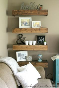 99 DIY Farmhouse Living Room Wall Decor And Design Ideas 21
